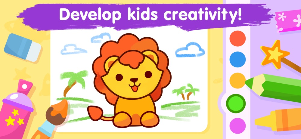 Kids coloring games for 3-5 Cheat Codes