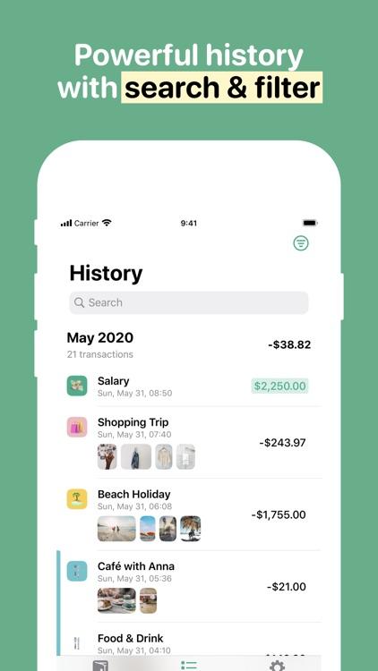 Fin - Budget Tracker screenshot-3
