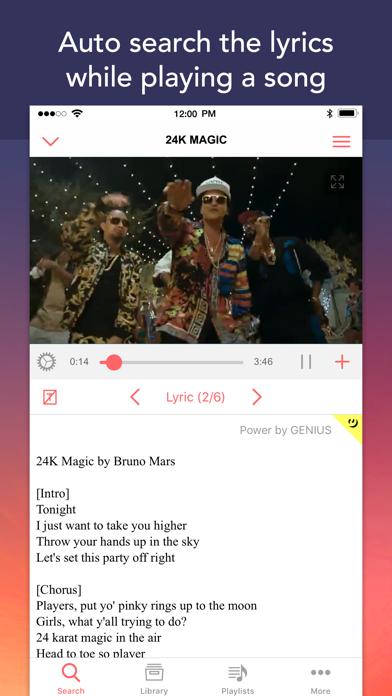 Mu - Online Music Video Player | App Price Drops