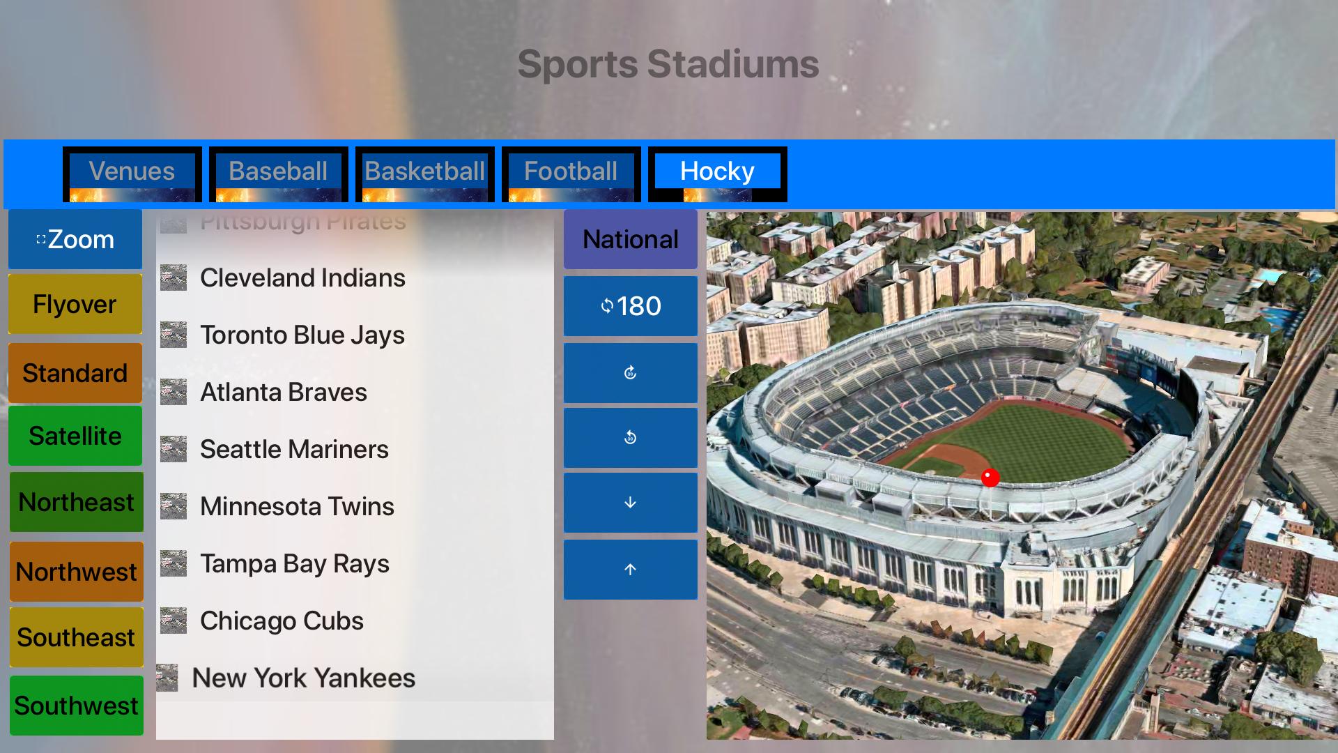 3D Sports Stadiums Lite screenshot 26