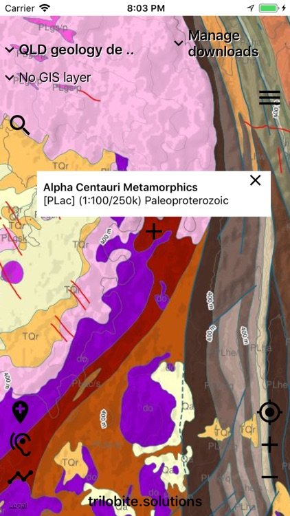 Australian Geology Travel Maps screenshot-6