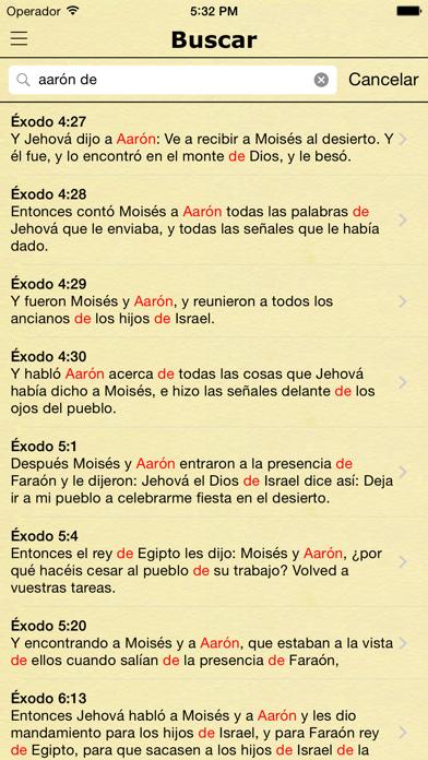 La Biblia Reina Valera Español screenshot four