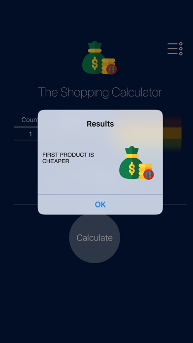 The Shopping Calculator screenshot 2