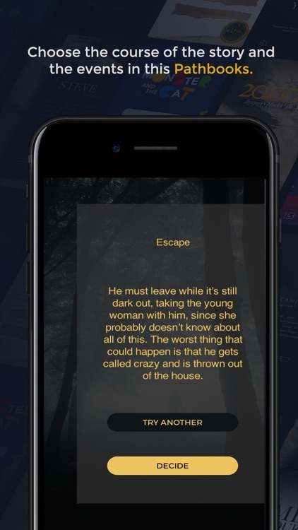 Dark Forest - HORROR GameBook screenshot-3