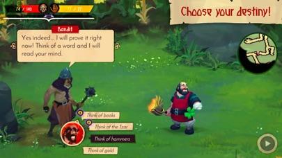 Yaga The Roleplaying Folktale screenshot 3