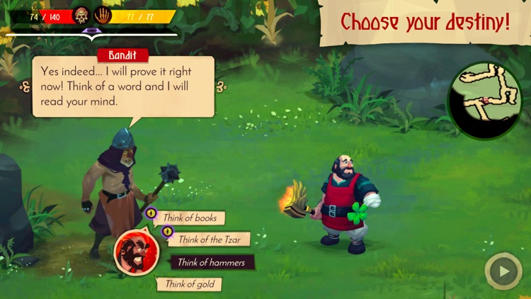 Yaga The Roleplaying Folktale screenshot-2