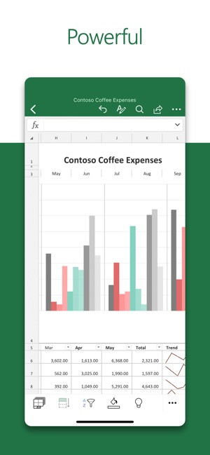 Microsoft Excel on the App Store
