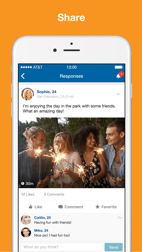 Skout dating app for iPhone