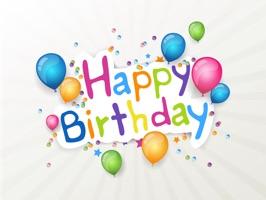 Happy Birthday Animated!