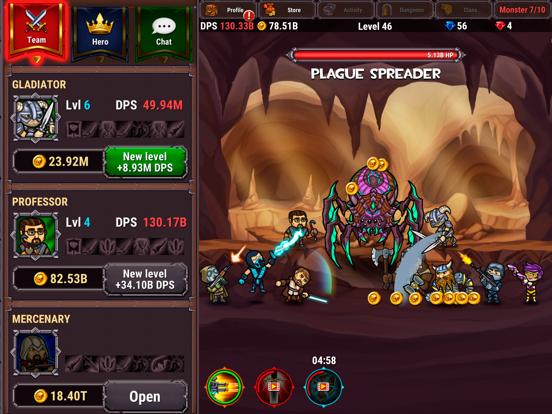 Lords Royale: RPG Clicker screenshot 10