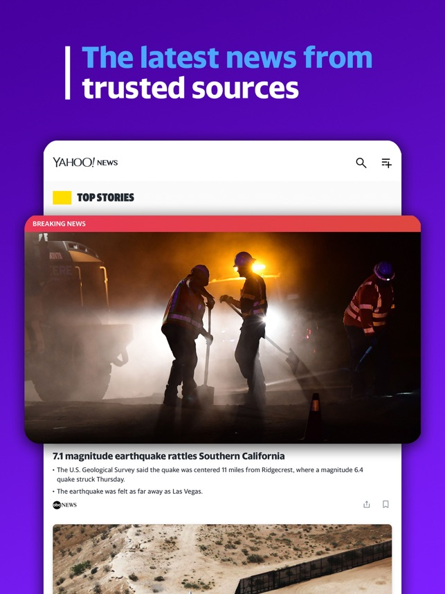 Yahoo News: Live Breaking News on the App Store