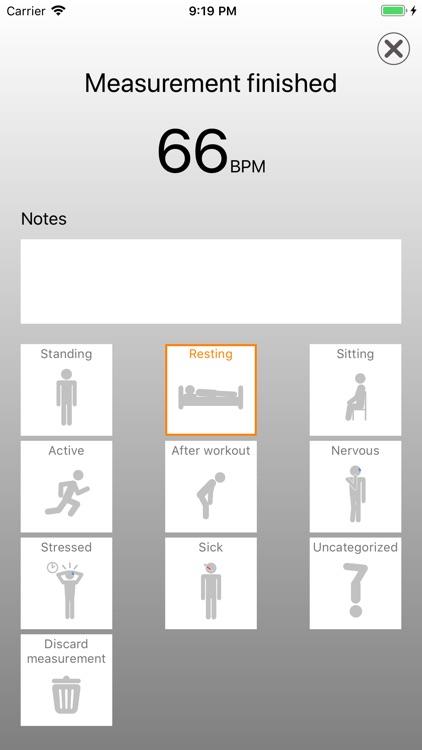 HEARTshape - Pulse and Fitness screenshot-5