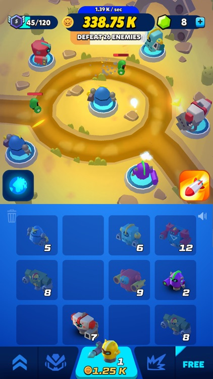 Merge Tower Bots screenshot-8