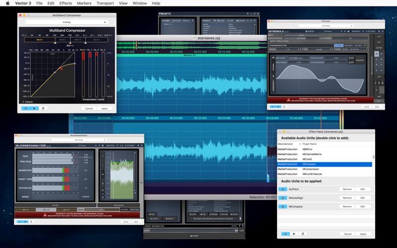 Vector 3 Express: Audio Editor скриншот программы 5