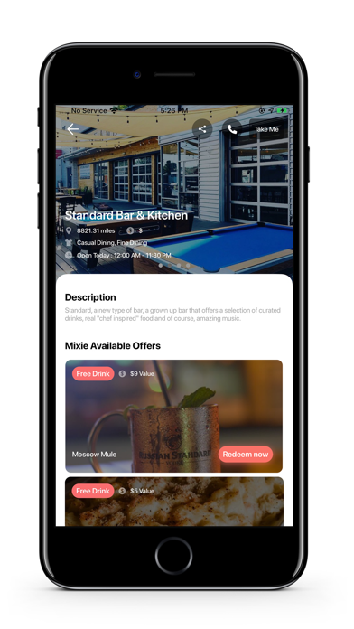 Mixie: Lifestyle, Drinks, Eats Screenshot