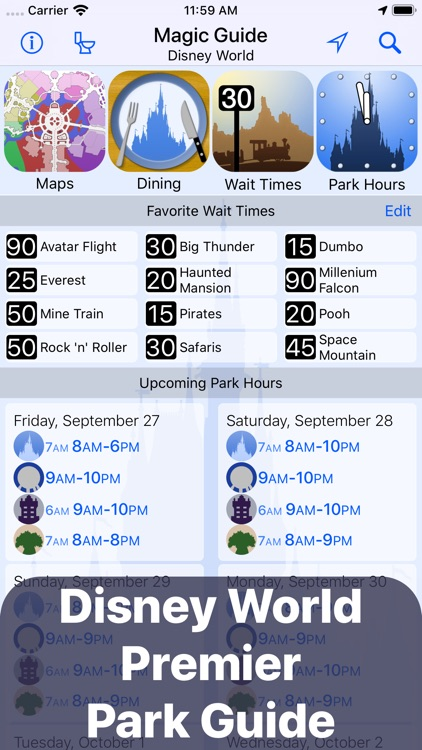 Magic Guide for Disney World screenshot-0
