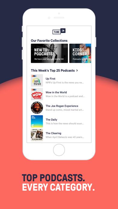 TuneIn Radio: News & Podcasts