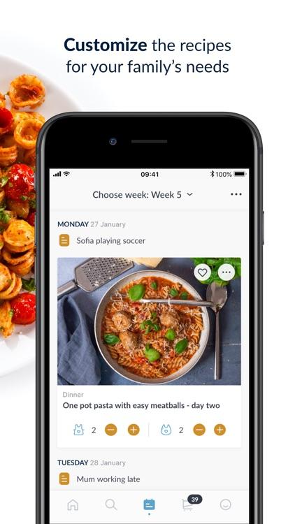 Mambeno - recipes & meal plan