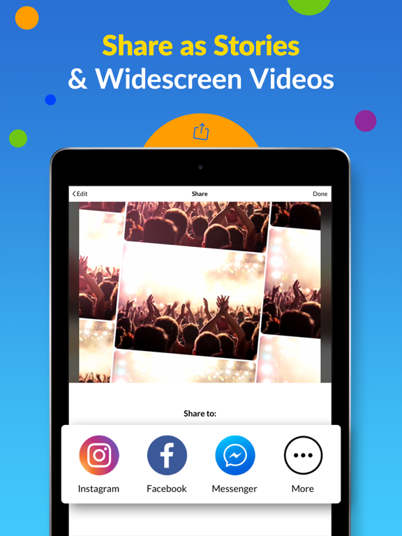 MoShow - Slideshow Movie Maker screenshot