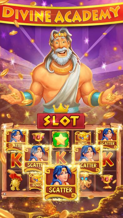 Divine Academy Casino: Slots screenshot 1