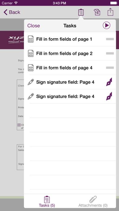 messages.download xyzmo Signature Capture software