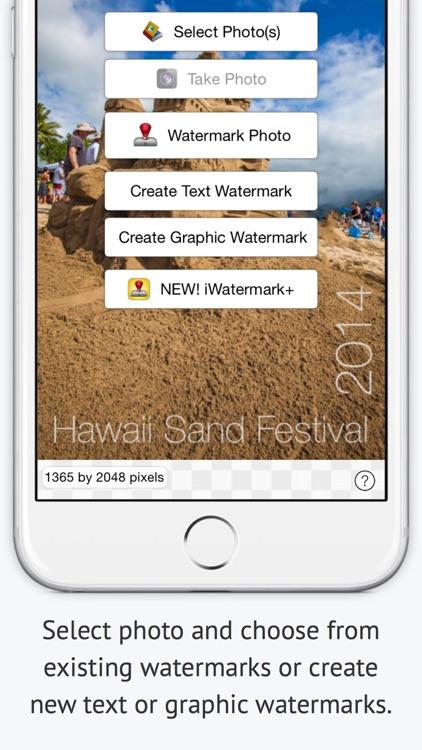 iWatermark - Watermark Photos screenshot-3