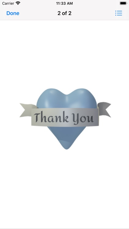 Thank You Stickers Pack screenshot-3