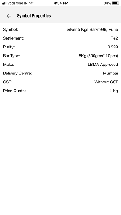 RSBL SPOT - Gold Silver Prices screenshot four