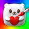 App Icon for Squishy Magic: 3D Art App in Colombia IOS App Store