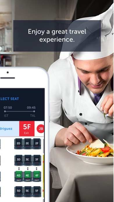 Screenshot for Turkish Airlines: Book Flights in Azerbaijan App Store