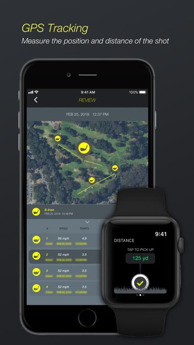Golf Plus : Swing Analyzer screenshot four
