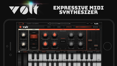 Screenshot VOLT Synth