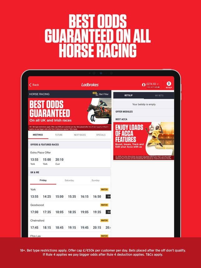 Ladbrokes sports betting bet 10 get $300 off any new ipad with iphone purchase betting advice csgolounge twitter