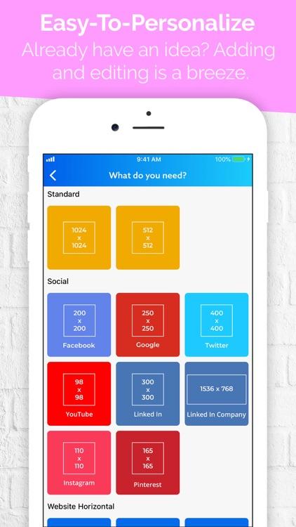 Logo Maker - Icon Creator screenshot-6