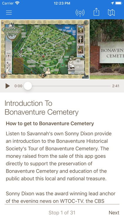 Bonaventure Cemetery Tours screenshot-3