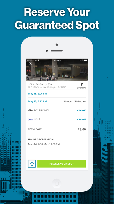 Screenshot for ParkMobile - Find Parking in United States App Store