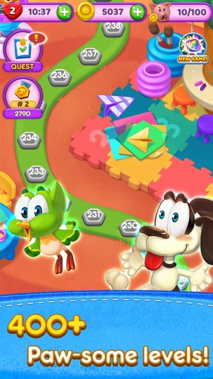 Magic Cat Match: Swipe & Blast screenshot-3