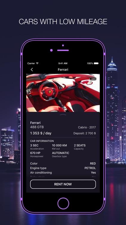 DreamCars for rent screenshot-3
