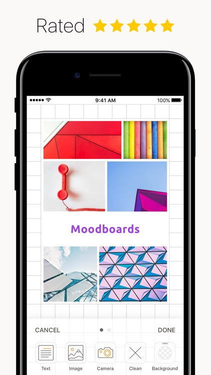 Plotboard - simple moodboard