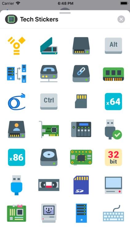 Tech-Stickers