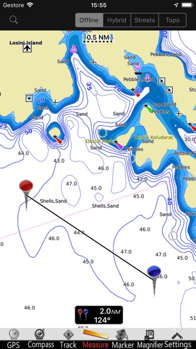 Croacia GPS Cartas Náutica ProCaptura de pantalla de1