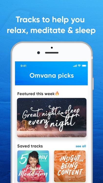 Omvana - Meditation for All screenshot-3