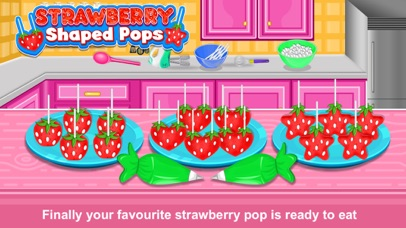Strawberry Pops Cooking Games screenshot 1