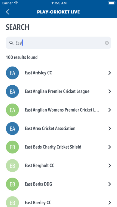 Play-Cricket Live screenshot four
