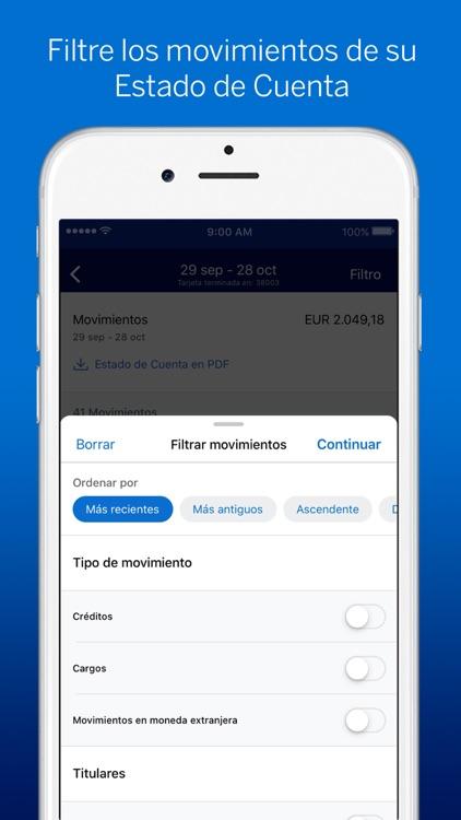 Amex España screenshot-3