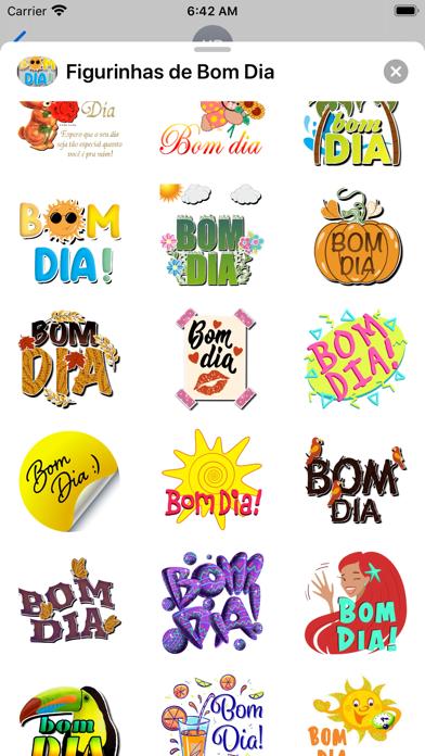 +90 Figurinhas de Bom Dia Screenshot