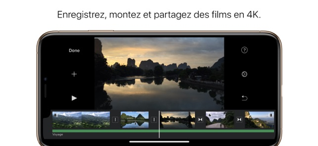 ‎iMovie Capture d'écran