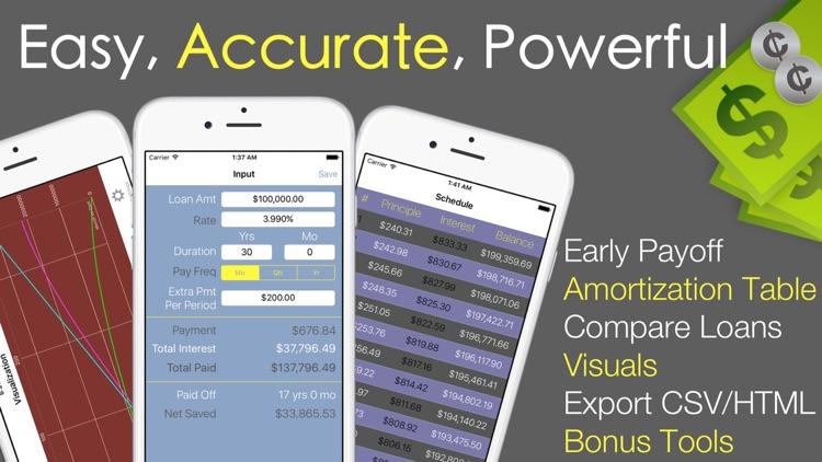 Loan Calculator PRO - Mortgage screenshot-5
