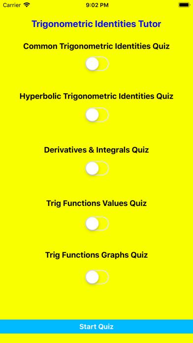 Screenshot for Trigonometric Identities Tutor in United States App Store