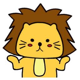 Singa Polah Stickers Pack 5